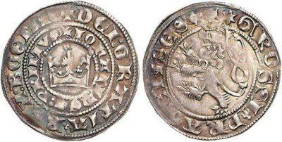 Pražský groš jako první zavedl v roce 1300 Václav II. Pražské groše razili i další panovníci.