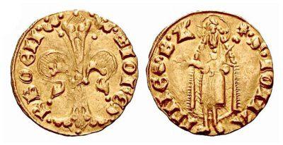 Český dukát (zlatá mince) nechával razit už král Karel IV.