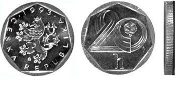 Neplatné mince - 20 haléřů